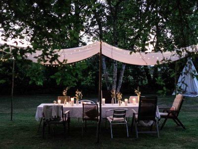 DIY- Zelt für die Gartenparty