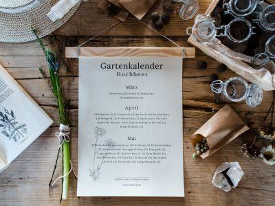 Workshop: 15.02.2020 Gartenplan und Aussaat-und Pflanzkalender für das Gartenjahr